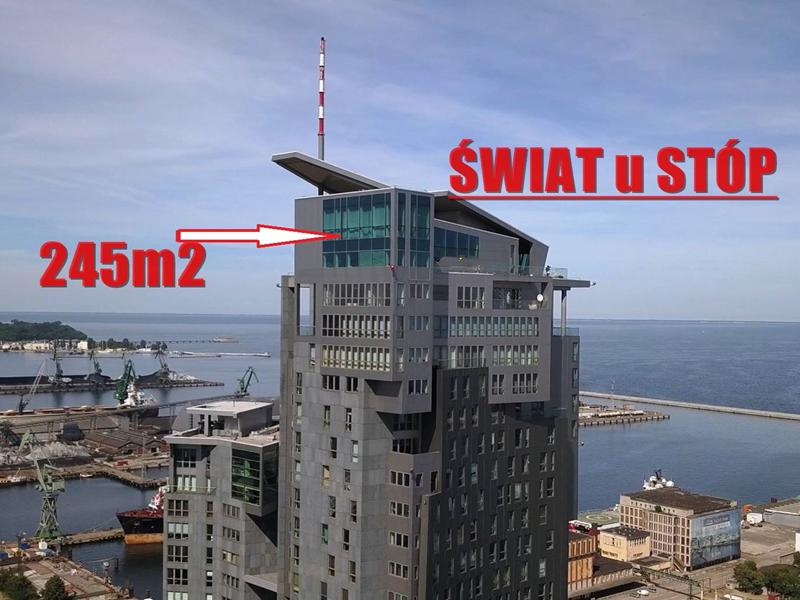 38 kondygnacja wyższej wieży A w Sea Towers – 125 metrów nad ziemią !